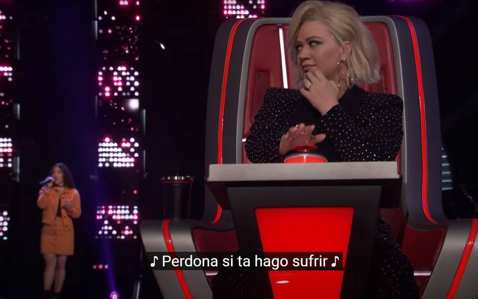 La reacción del jurado de La Voz en EEUU cuando una concursante interpreta una canción de Isabel Pantoja
