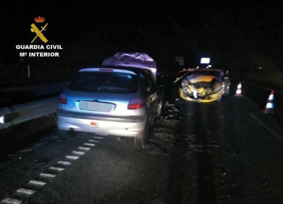 Investigan a un conductor por circular 13 km en sentido contrario, ebrio y provocar un accidente en Mazarrón