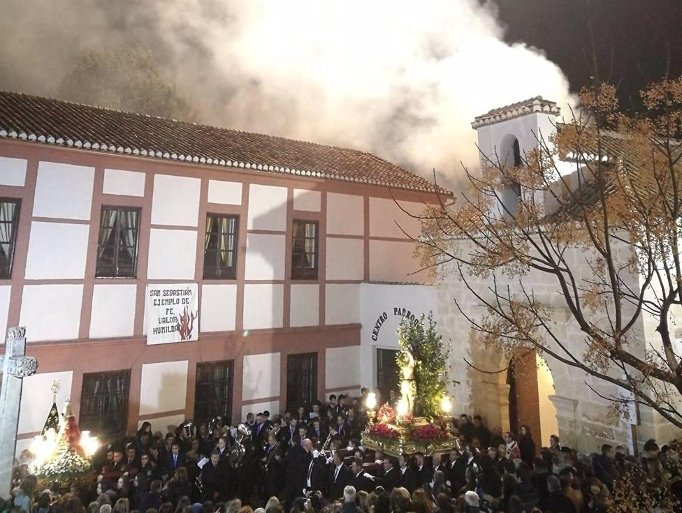 Granada.- Coronavirus.- Suspendidas las procesiones y hogueras por San Sebastián en Padul