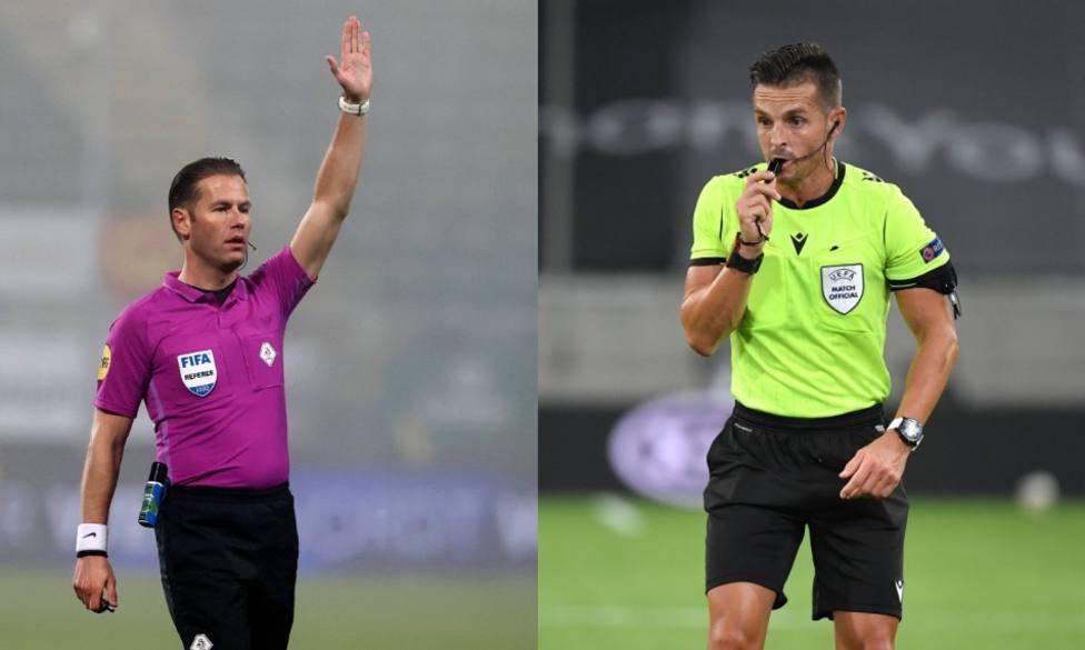 El colegiado neerlandés Makkelie dirigirá el Sevilla-Dortmund; Del Cerro estará en el Oporto-Juventus