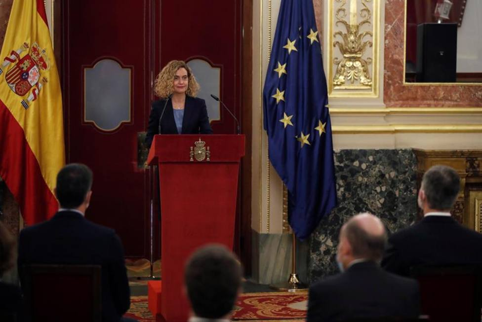 Meritxell Batet ensalza el papel del Rey Juan Carlos que supo defender la democracia