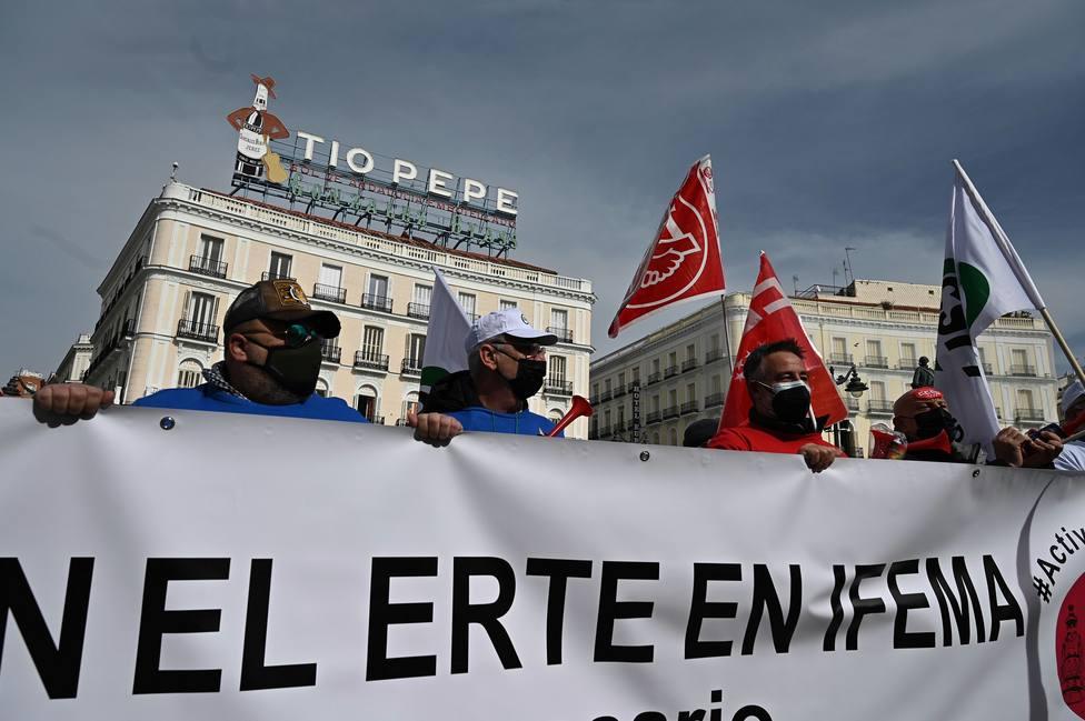 La cifra de trabajadores en ERTE se desboca en febrero y alcanza los 900.000