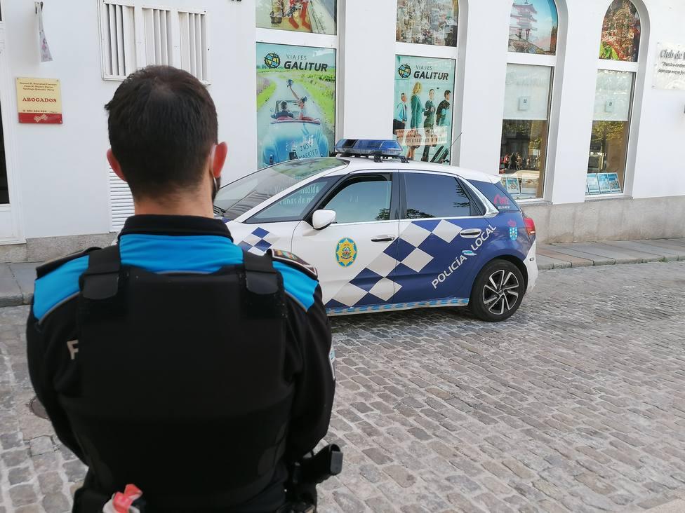 Foto de archivo de un agente de la Policía Local de Ferrol