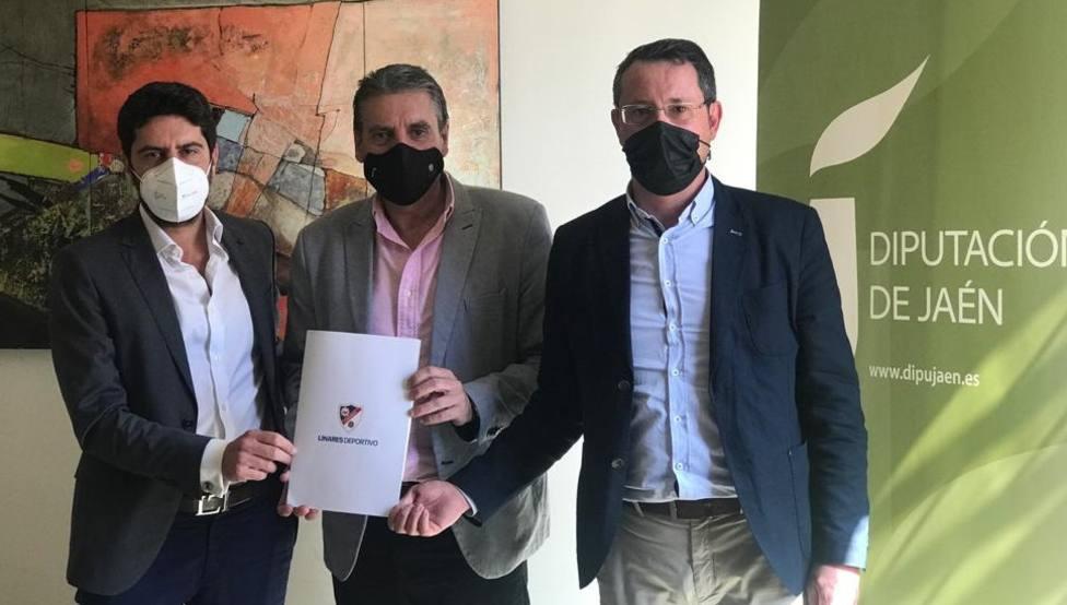 El Linares Deportivo Contará con el apoyo de la Diputación en el play off de ascenso a Segunda División