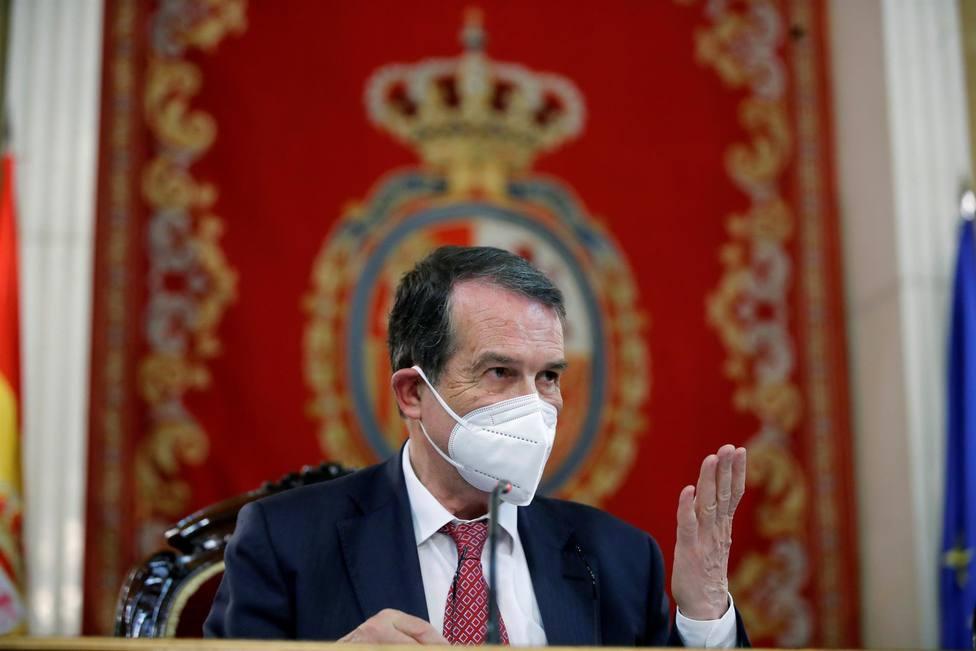 El presidente de la Federación Española de Municipios y Provincias (FEMP), Abel Caballero,