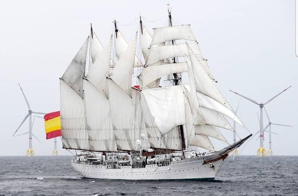 El Rey acompaña este domingo a la tripulación de Elcano a su llegada a Cádiz tras circunnavegar la Tierra