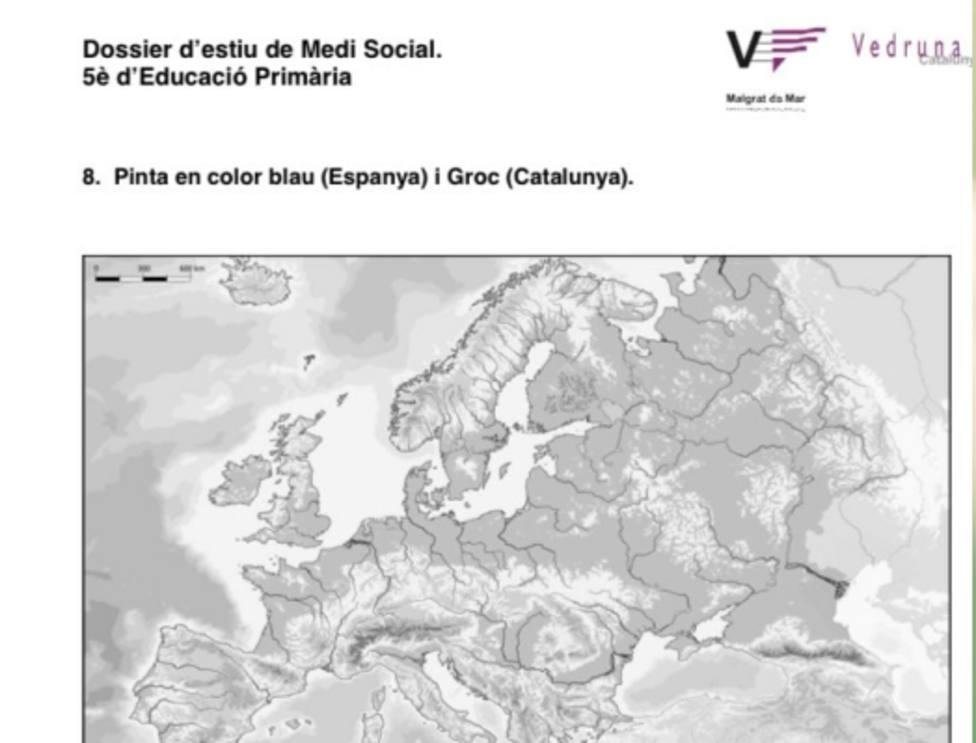 Mapa escuela Vedruna