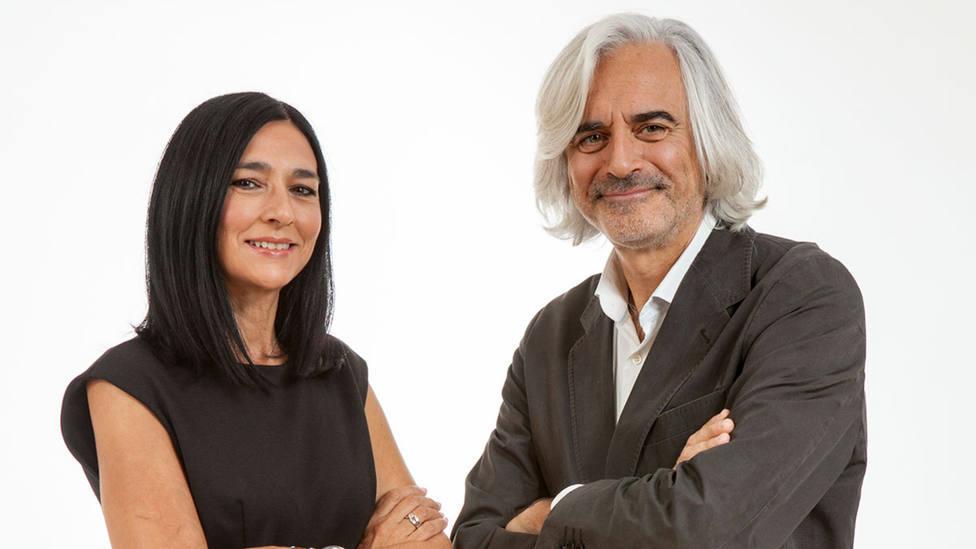 Pilar Cisneros y Fernando de Haro