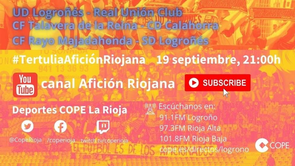 4ª jornada Primera RFEF: La tertulia Afición Riojana