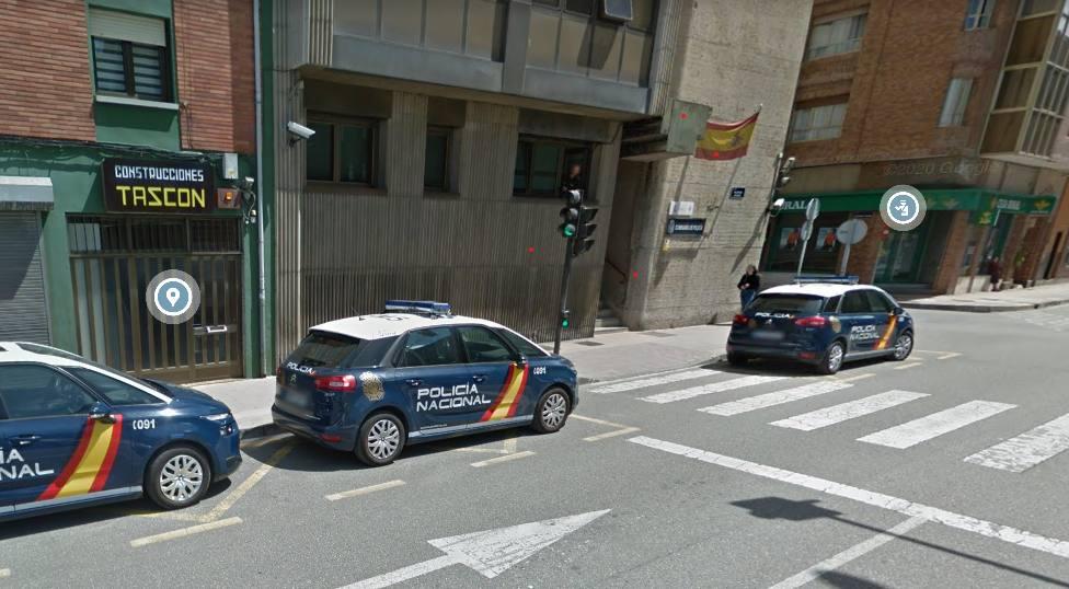 Comisaría de la Policía Nacional en Mieres