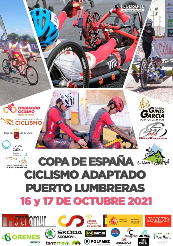 Puerto Lumbreras albergará este fin de semana las dos últimas pruebas de Copa España de Ciclismo Adaptado