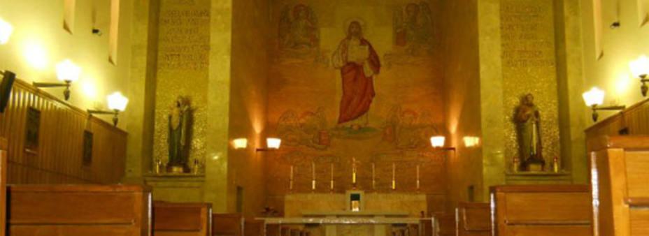 Una de las capillas de la Casa Divin Maestro