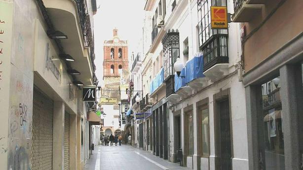 Una calle de Zafra