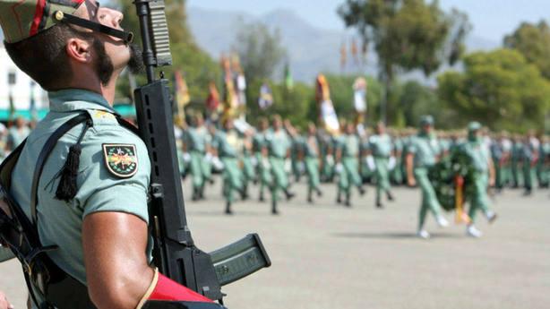 Muere en Alicante un legionario atropellado durante un ejercicio