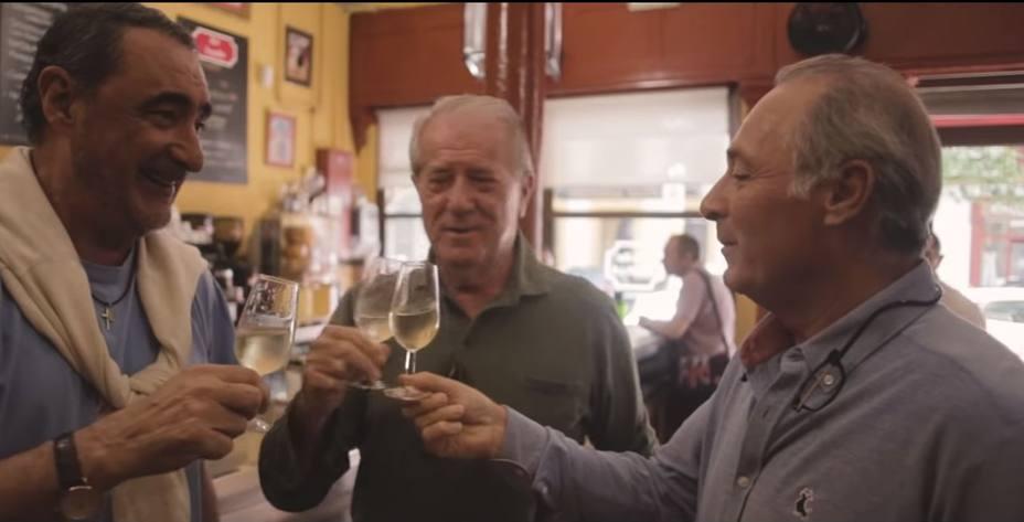 Carlos Herrera y Fran Rivera arropan a Soto en su videoclip de Soy español