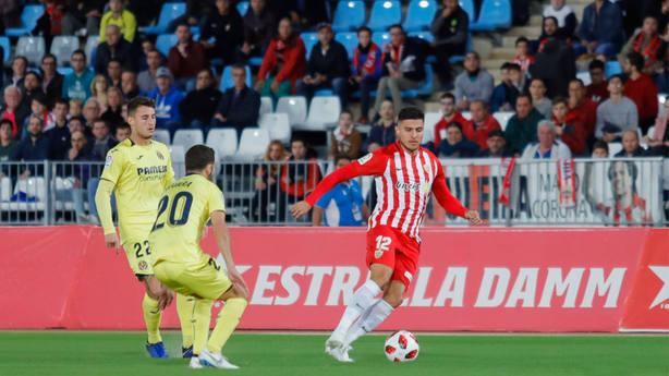 Almería - Villarreal, ida de 1/16 de final de la Copa del Rey (@LaLiga)