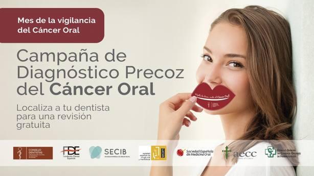 Comienza la Campaña para el Diagnóstico Precoz del Cáncer Oral