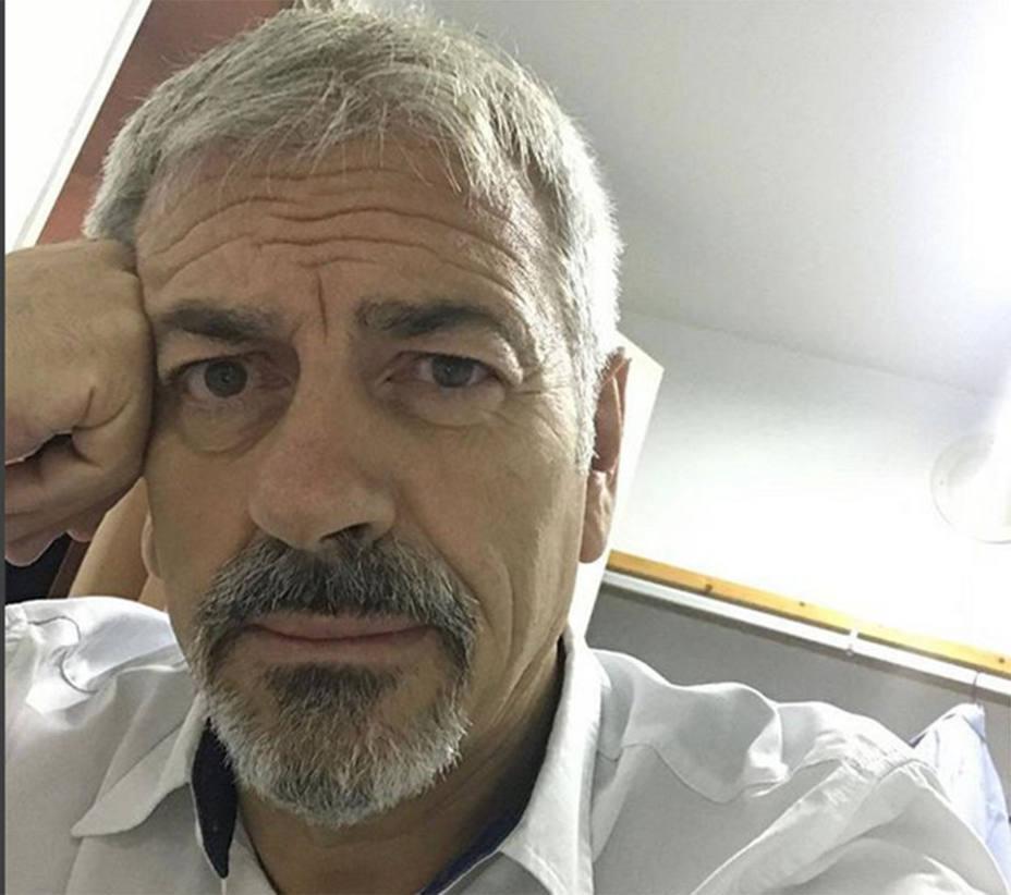 Carlos Sobera confiesa su enfermedad por la que estuvo muy grave