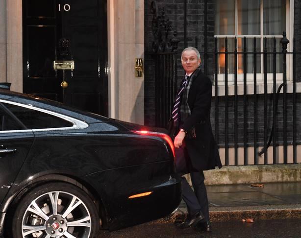 El número dos del Gobierno británico, David Lidington