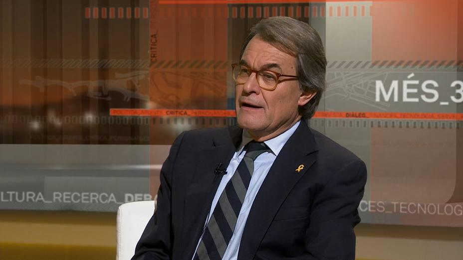 Artur Mas acusa al Estado de no buscar una solución al procés y de tener tics de la dictadura franquista