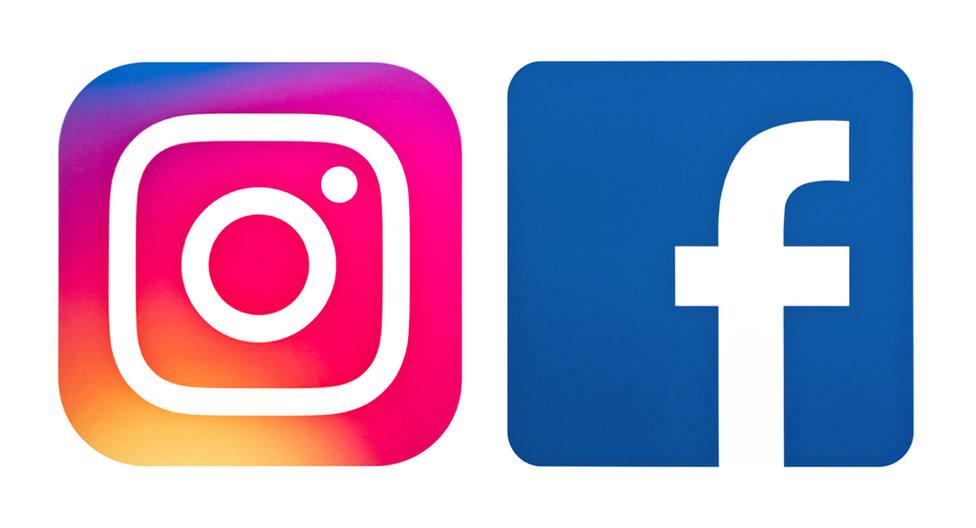 """Resultado de imagen para Facebook e Instagram se """"caen"""""""