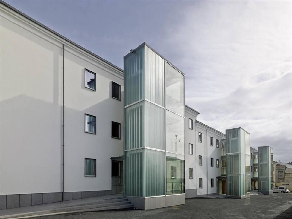 Exterior del Cuartel de la Guardia Civil de Ferrol - FOTO: COAG