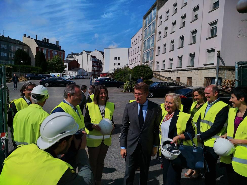 Feijóo anuncia que mañana será licitado el Centro Integral de Saúde de Lugo por 12 millones de euros