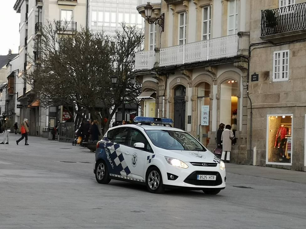 Vehículo de la Policía Local de Lugo