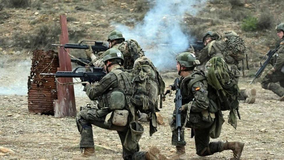 La falta de crédito paraliza la renovación de vestuario de los militares del Ejército de Tierra
