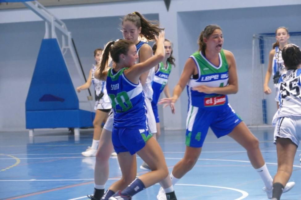 Primer partido Torneo Diputación femenino de Baloncesto