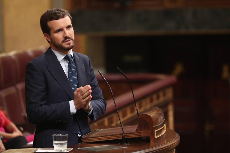 Casado compara a Sánchez con Boris Johnson y avisa: España no merece nuevas elecciones ni un presidente como usted
