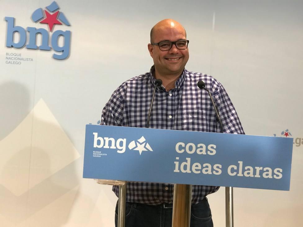 Rubén Cela (BNG) cree que una condena por sedición será una auténtica vergüenza que retrata al Estado español