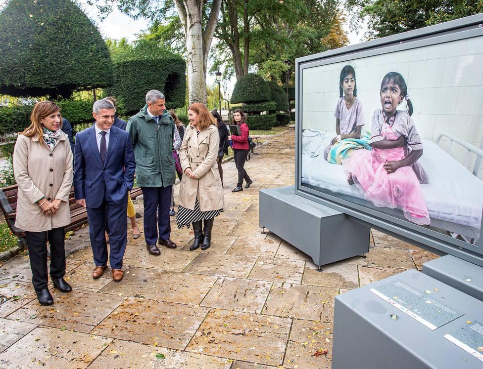 """La exposición Tierra de sueños, organizada por """"la Caixa"""" y la Fundación Caja de Burgos"""