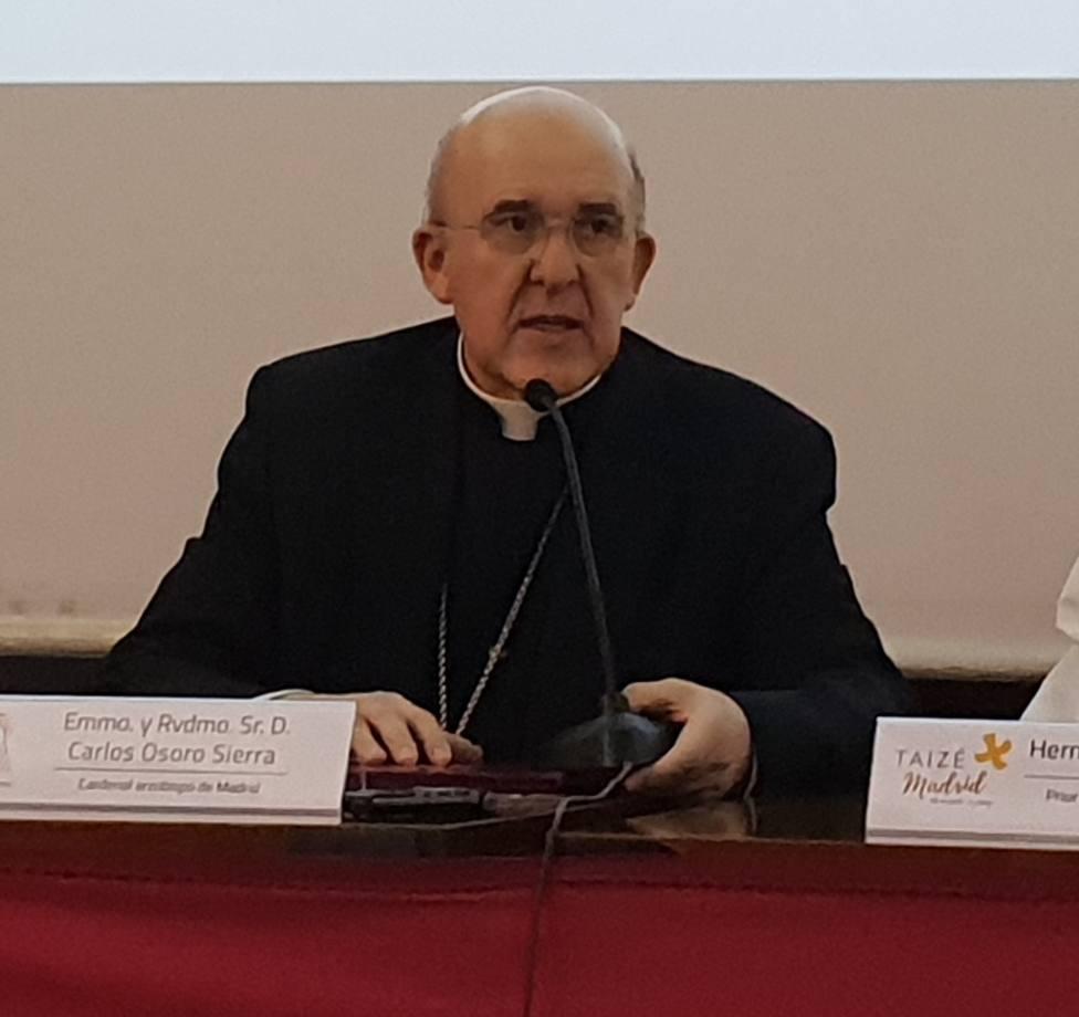 El arzobispo de Madrid llama a despertar a la capacidad de diálogo, ya que las ideas pueden ser diferentes