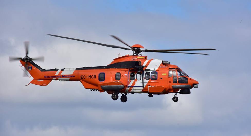 Foto de archivo del helicóptero Helimer 401 de Salvamento Marítimo - FOTO: José R. Montero