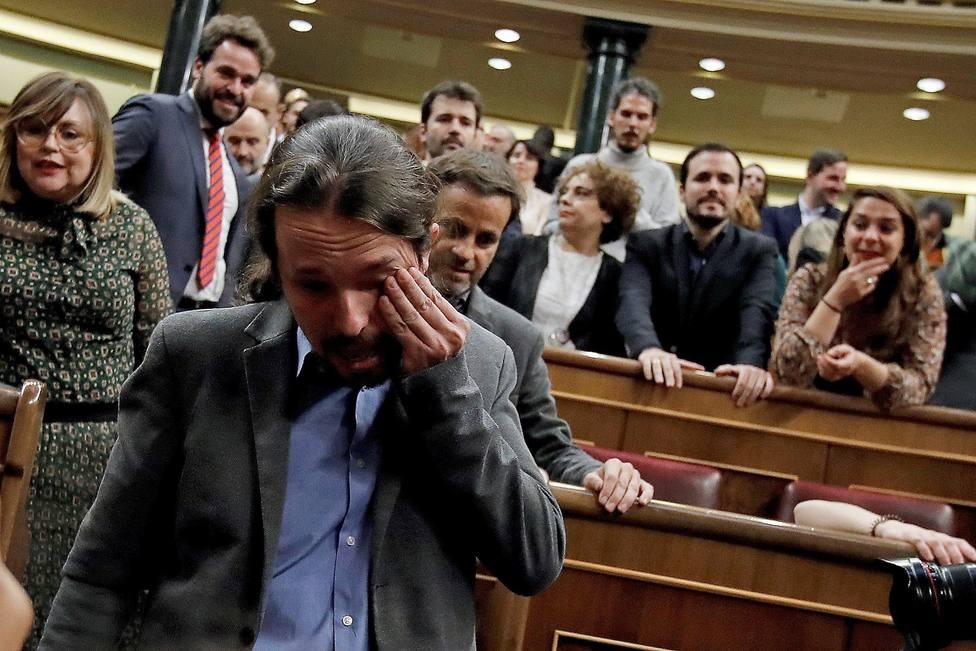 Otros políticos que rompieron a llorar en público como Pablo Iglesias