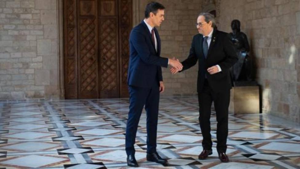 Estas son las 44 propuestas que Sánchez hizo a Torra en una reunión con más cesiones al independentismo