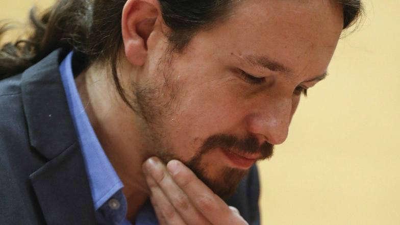 Pablo Iglesias, aquejado de una amigdalitis, no estaría presente en la mesa de diálogo con Cataluña