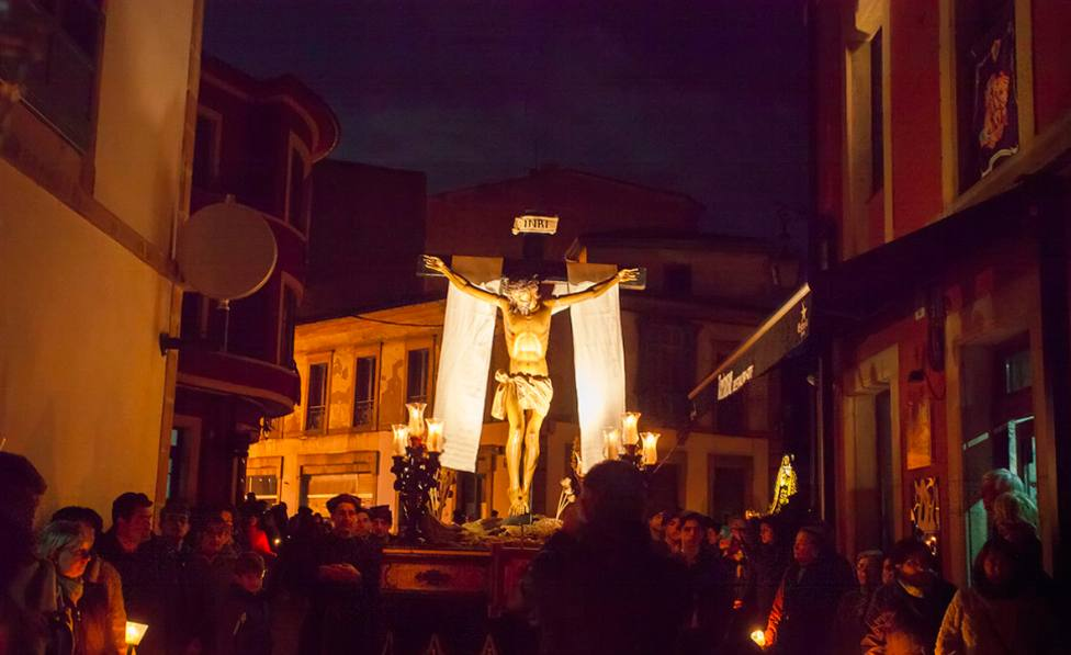 Paso de la Semana Santa de Villaviciosa