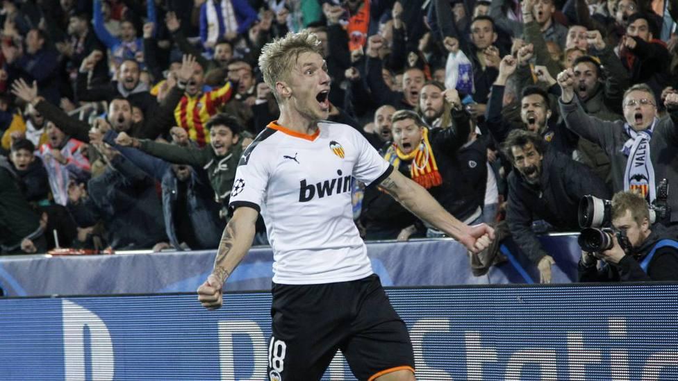 El danés ha demostrado su deseo de seguir en Valencia