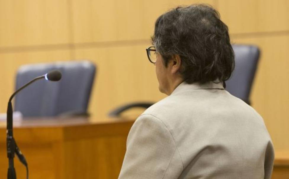 Ex marido de Oltra durante el juicio