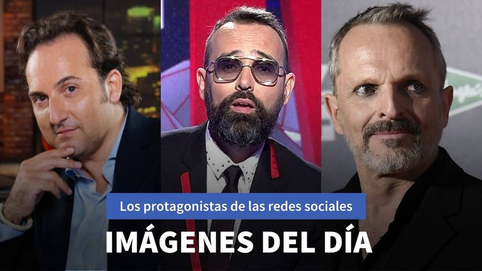 Iker Jiménez, Risto Mejide y Miguel Bosé
