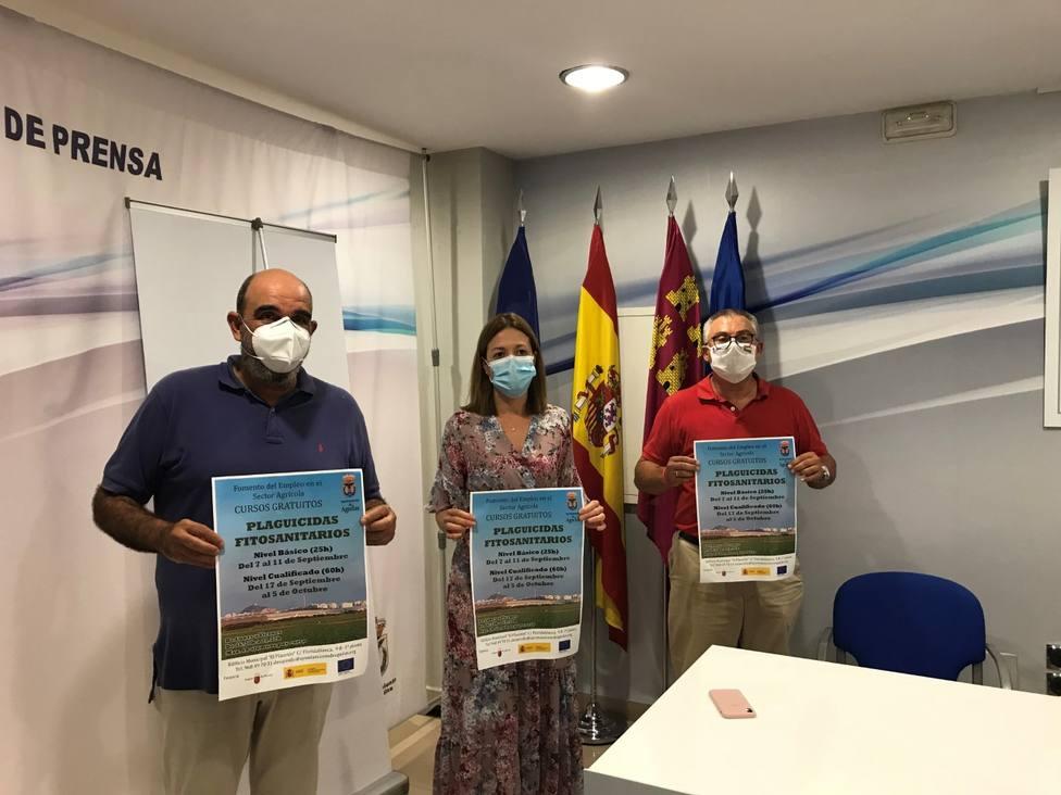 El Ayuntamiento anuncia la puesta en marcha de dos cursos capacitación tratamientos productos fitosanitarios