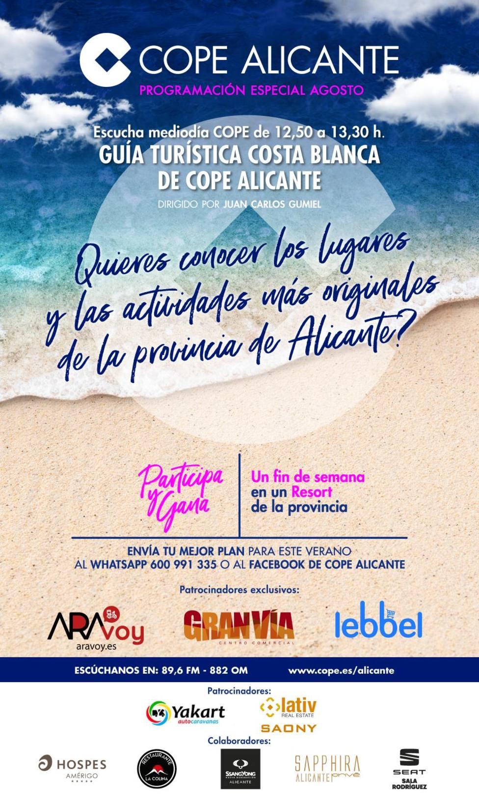Guía Costa Blanca COPE Alicante