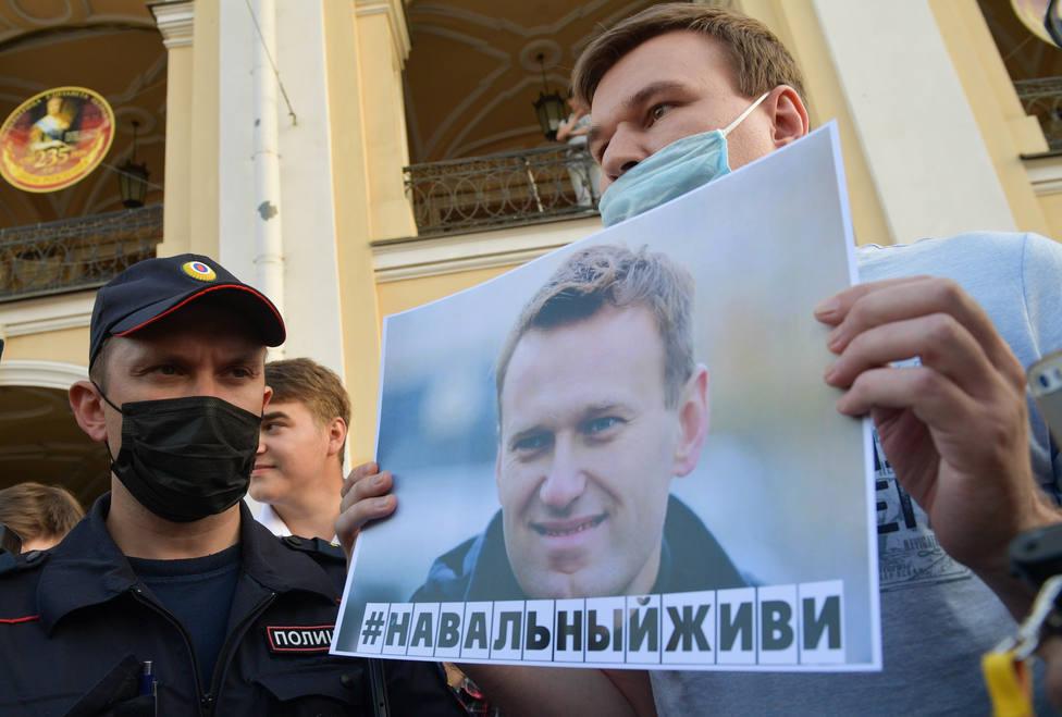 Alemania fracasa en su intento de sacar a Navalni de Rusia