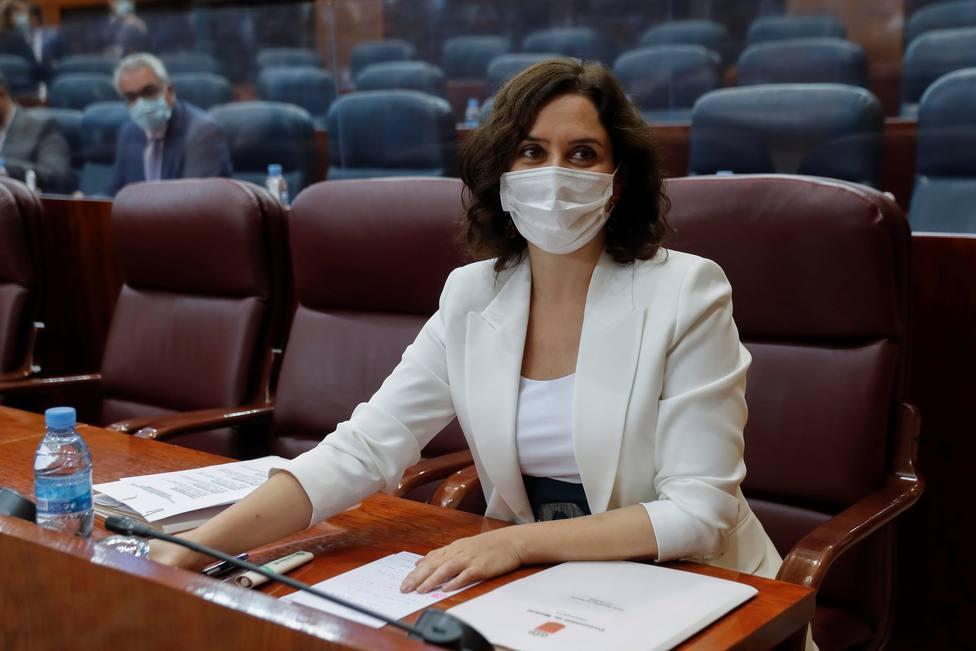 Ayuso presentará este viernes un recurso ante la Audiencia Nacional por el cierre de Madrid