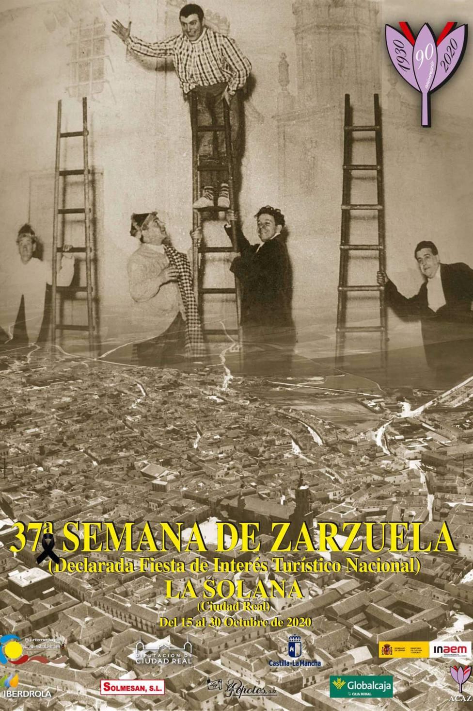 Cartel 37ª Semana Nacional de la Zarzuela de La Solana