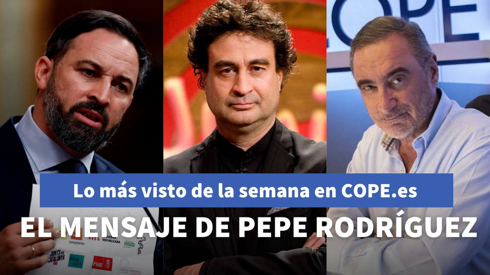 El mensaje de Pepe Rodríguez en COPE a Herrera, entre lo más visto de la semana