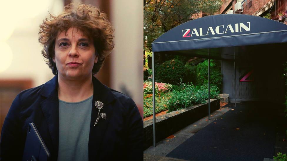 Polémica celebración de Gloria Elizo tras el cierre del histórico Zalacaín: Se desmoronan