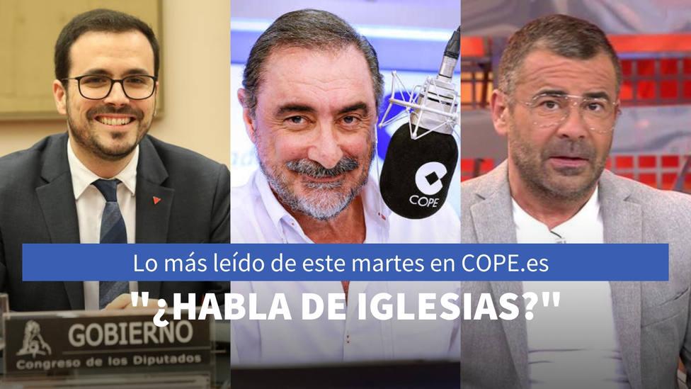 La pregunta de Herrera que retrata a una concejal de Podemos, entre lo más leído de este martes